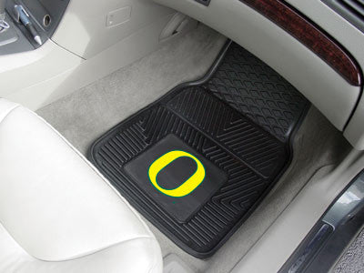 The Oregon Ducks Vinyl Automotive Car Floor Mat Set - Fan Mats 9557