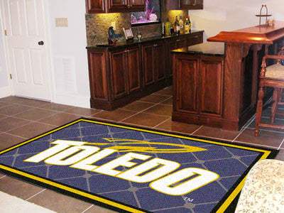 The UT Rockets Area Rug Size 5x8, Fan Mats 9959