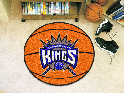 NBA - Sacramento Kings Basketball Mat 26 in diameter