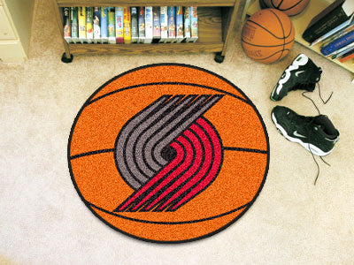 NBA - Portland Trail Blazers Basketball Mat 26 in diameter
