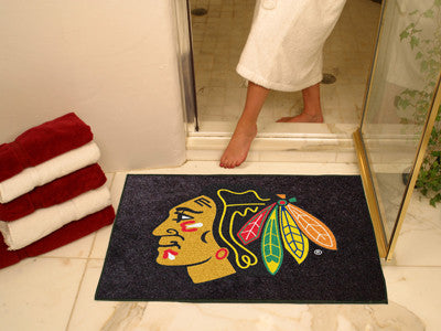 The Chicago Blackhawks NHL All Star Mat by FanMats