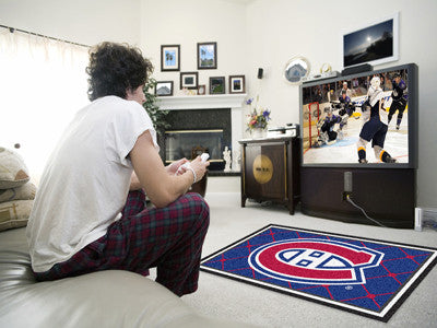 NHL - Montreal Canadiens 4x6 Rug