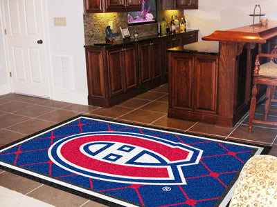 The Montreal Canadiens 5X8 NHL Area Rug - FanMats 10411
