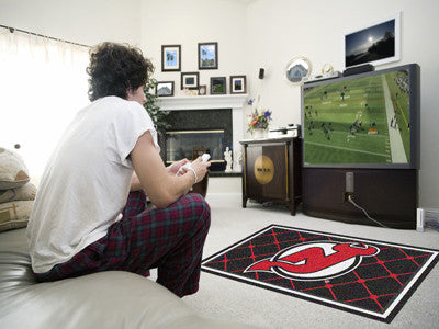 NHL - New Jersey Devils 4x6 Rug