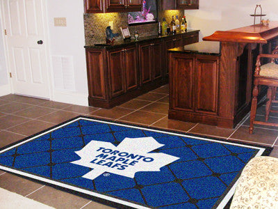 The Toronto Maple Leafs 5X8 NHL Area Rug - FanMats 10448