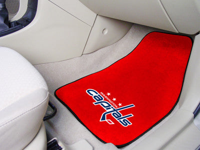 NHL - Washington Capitals 2-pc Printed Carpet Car Mats