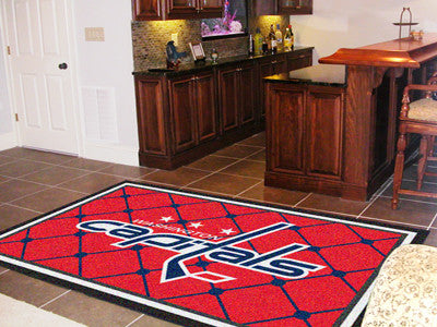 NHL - Washington Capitals 5x8 Rug