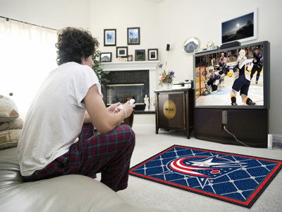 NHL - Columbus Blue Jackets 4x6 Rug