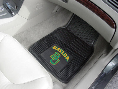 The Baylor  Bears Vinyl Automotive Car Floor Mat Set - Fan Mats 11770