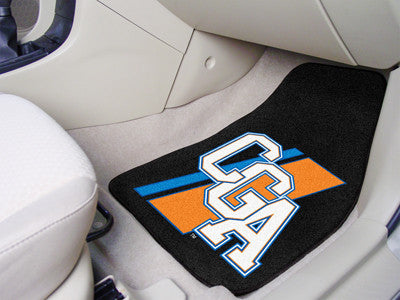 The CGA Bears 2 Piece Carpeted U.S. Coast Guard Academy Car Floor Mat Set - FanMats 11816