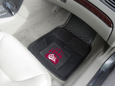 The Montana Grizzlies Vinyl Automotive Car Floor Mat Set - Fan Mats 11848