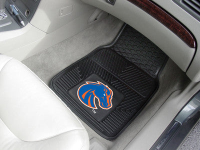 The BSU Broncos Vinyl Automotive Car Floor Mat Set - Fan Mats 11850