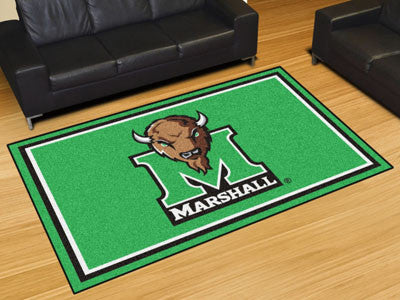 The Marshall  Thundering Herd Area Rug Size 5x8, Fan Mats 11929