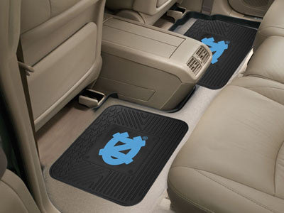 UNC Tar Heels Rear Seat Car Floor Mat Set 12274