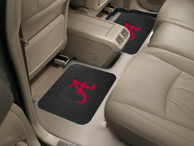 Bama Crimson Tide Rear Seat Car Floor Mat Set 12275
