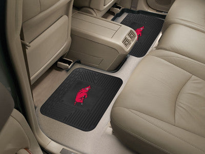 Arkansas Razorbacks Rear Seat Car Floor Mat Set 12276