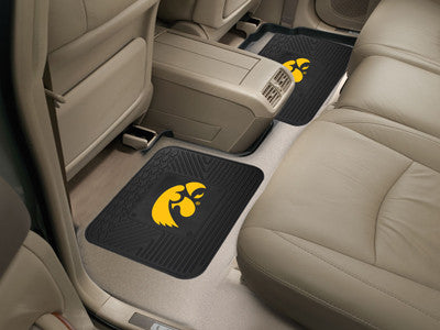 Iowa Hawkeyes Rear Seat Car Floor Mat Set 12282