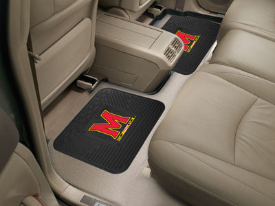 UM Terrapins Rear Seat Car Floor Mat Set 12286