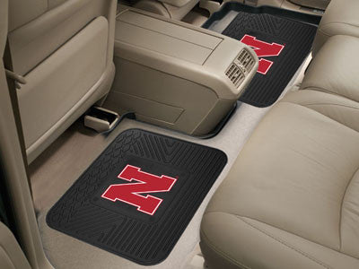 Nebraska Cornhuskers Rear Seat Car Floor Mat Set 12291