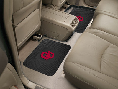 OU Sooners Rear Seat Car Floor Mat Set 12294