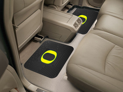 Oregon Ducks Rear Seat Car Floor Mat Set 12295