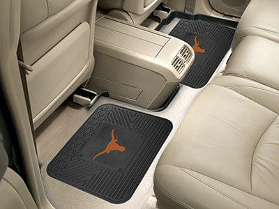 UT Longhorns Rear Seat Car Floor Mat Set 12300