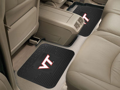 VT Hokies Rear Seat Car Floor Mat Set 12393