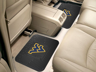 WVU Mountaineers Rear Seat Car Floor Mat Set 12424