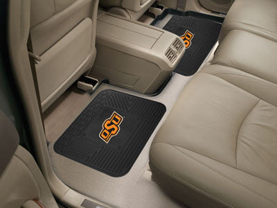 OSU Cowboys Rear Seat Car Floor Mat Set 12428