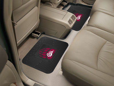 Griz Grizzlies Rear Seat Car Floor Mat Set 12432