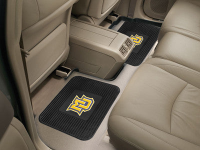Marquette Golden Eagles Rear Seat Car Floor Mat Set 12434