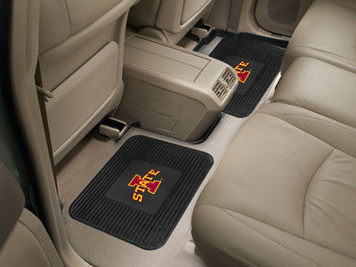 ISU Cyclones Rear Seat Car Floor Mat Set 12760