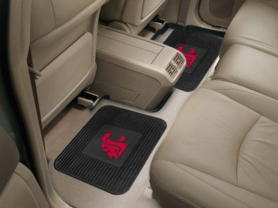 WSU Cougars Rear Seat Car Floor Mat Set 12780