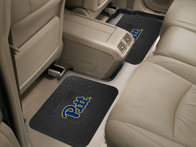 Pitt Panthers Rear Seat Car Floor Mat Set 13225