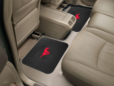 SMU Mustangs Rear Seat Car Floor Mat Set 13226