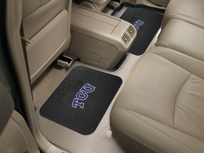 TCU Horned Frogs Rear Seat Car Floor Mat Set 13228