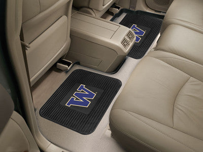 UW Huskies Rear Seat Car Floor Mat Set 13262