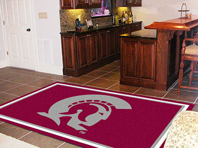 The UALR Trojans  Area Rug Size 5x8, Fan Mats 13501
