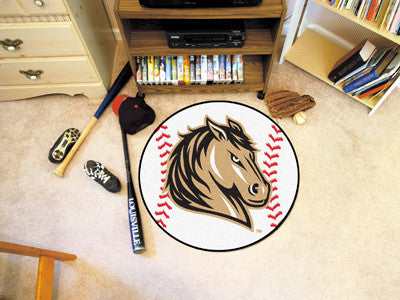 The SMSU Mustangs Baseball Mat - Fan Mats 14084