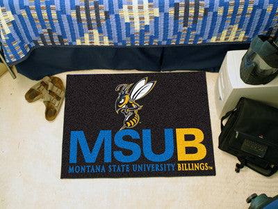 The MSUB Yellow Jackets NCAA Starter Mat - FanMats 14116