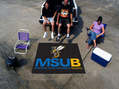 Montana State Billings Yellow Jackets Tailgater Rug - The FanMats 14151 Tailgating Mat