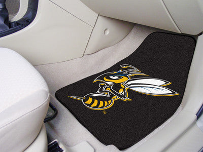The MSUB Yellow Jackets 2 Piece Carpeted Montana State University Billings Car Floor Mat Set - FanMats 14153