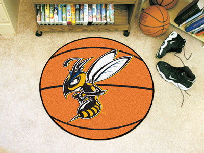 The Montana State Billings Yellowjackets Basketball Mat - FanMats 14155