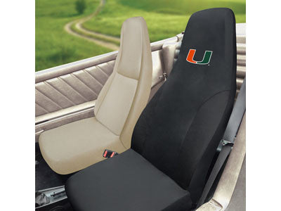 Miami Hurricanes Car and Truck Seat Cover - FanMats 15080
