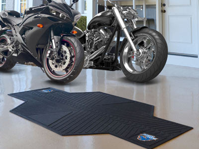 Boise State Motorcycle Mat for Garage