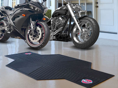 NBA - Detroit Pistons Motorcycle Mat for Garage oil changes