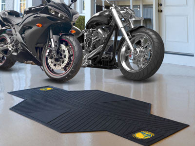 NBA - Golden State Warriors Motorcycle Mat for Garage oil changes