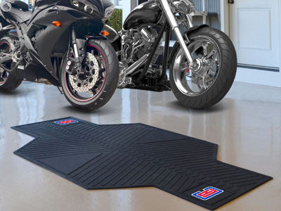 NBA - Los Angeles Clippers Motorcycle Mat for Garage oil changes