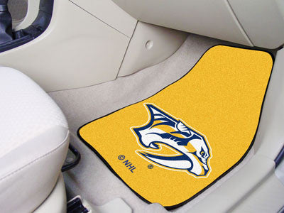 NHL - Nashville Predators 2-pc Printed Carpet Car Mats