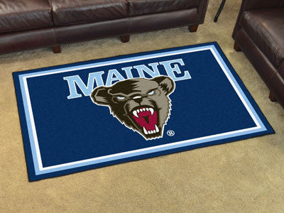 Maine Black Bears 4' x 6' Area Rug - FanMats 15585